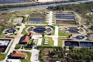 Atıksu arıtma tesisleri. Kanalizasyon kapler 88